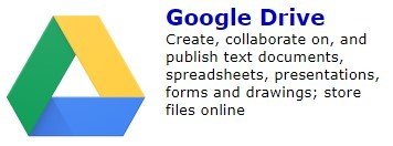 Google Drive icon on Single Sign-On Page